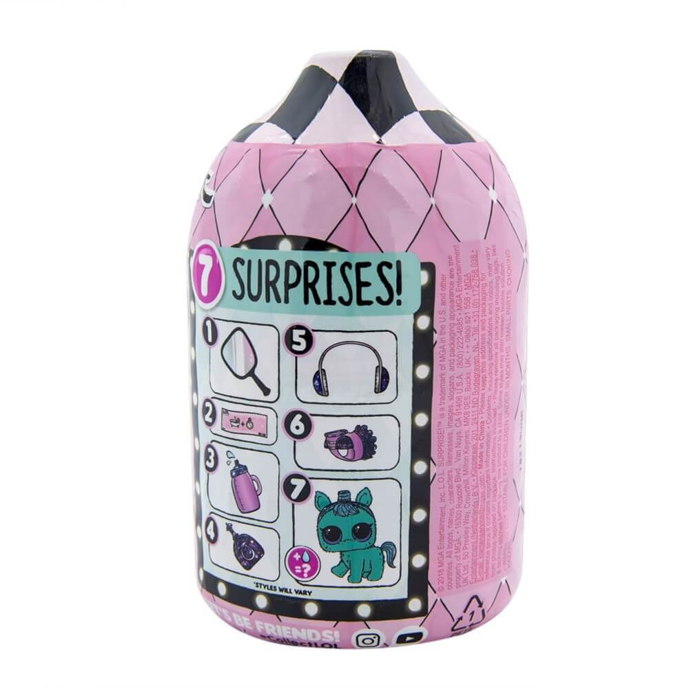 Кукла LOL Surprise Fuzzy Pets Makeover (Пушистые питомцы) 5 серия 2 волна (оригинал) - 3